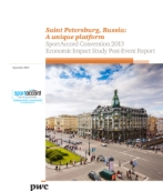 PwC assesses substantial economic impact of SportAccord convention 2013 in Saint Petersburg