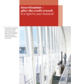 Structured finance: Securitisation after the credit crunch
