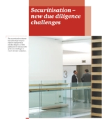 Structured finance: Securitisation new due diligence challenges