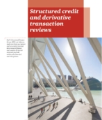 Structured finance: Structured credit and derivative transaction reviews