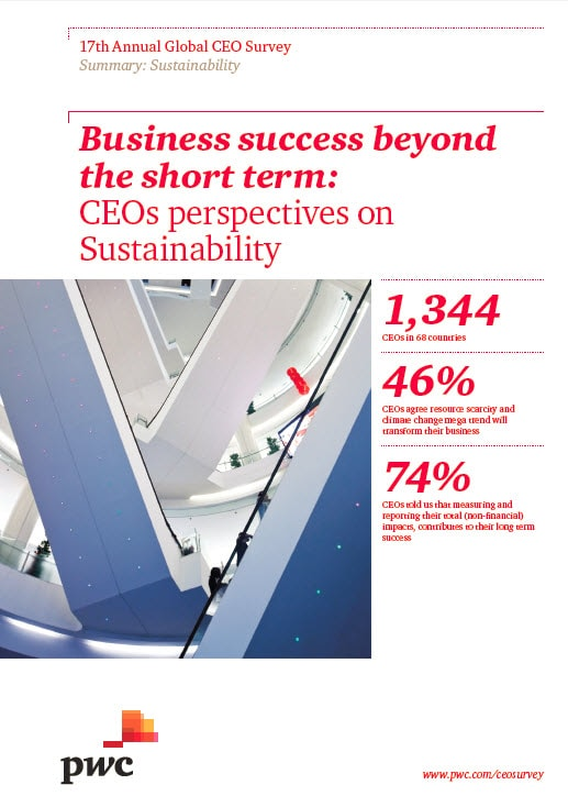 Sustainability: Business success beyond the short term