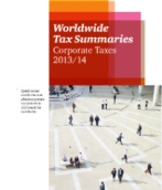 Worldwide Tax Summaries 2013/14