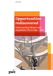 M&A Asian Tax Guide