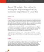 Pricing Knowledge Network: Japan National Tax Agency transfer pricing update - Introduction of transfer pricing survey to evaluate taxpayer efforts to manage transfer pricing