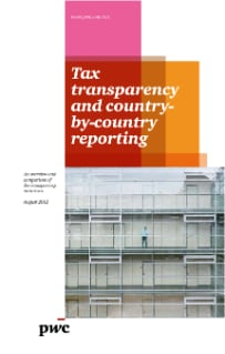 Tax transparency and country-by-country reporting