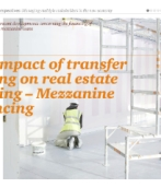 The impact of transfer pricing on real estate funding – Mezzanine financing