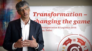 What are the main disruptors that will influence the future of the transportation and logistics industry?