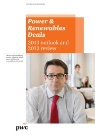 Power & Renewables Deals − 2013 outlook and 2012 review
