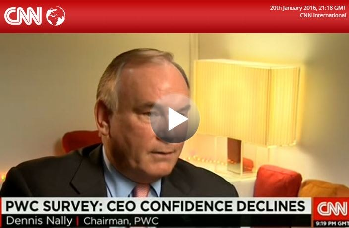 Watch Dennis Nally's interview with CNN's Richard Quest for the launch of PwC's 19th Annual Global CEO Survey at the World Economic Forum in Davos