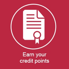 Earn your credit points