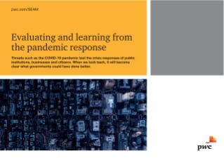 Evaluating and learning from the pandemic response