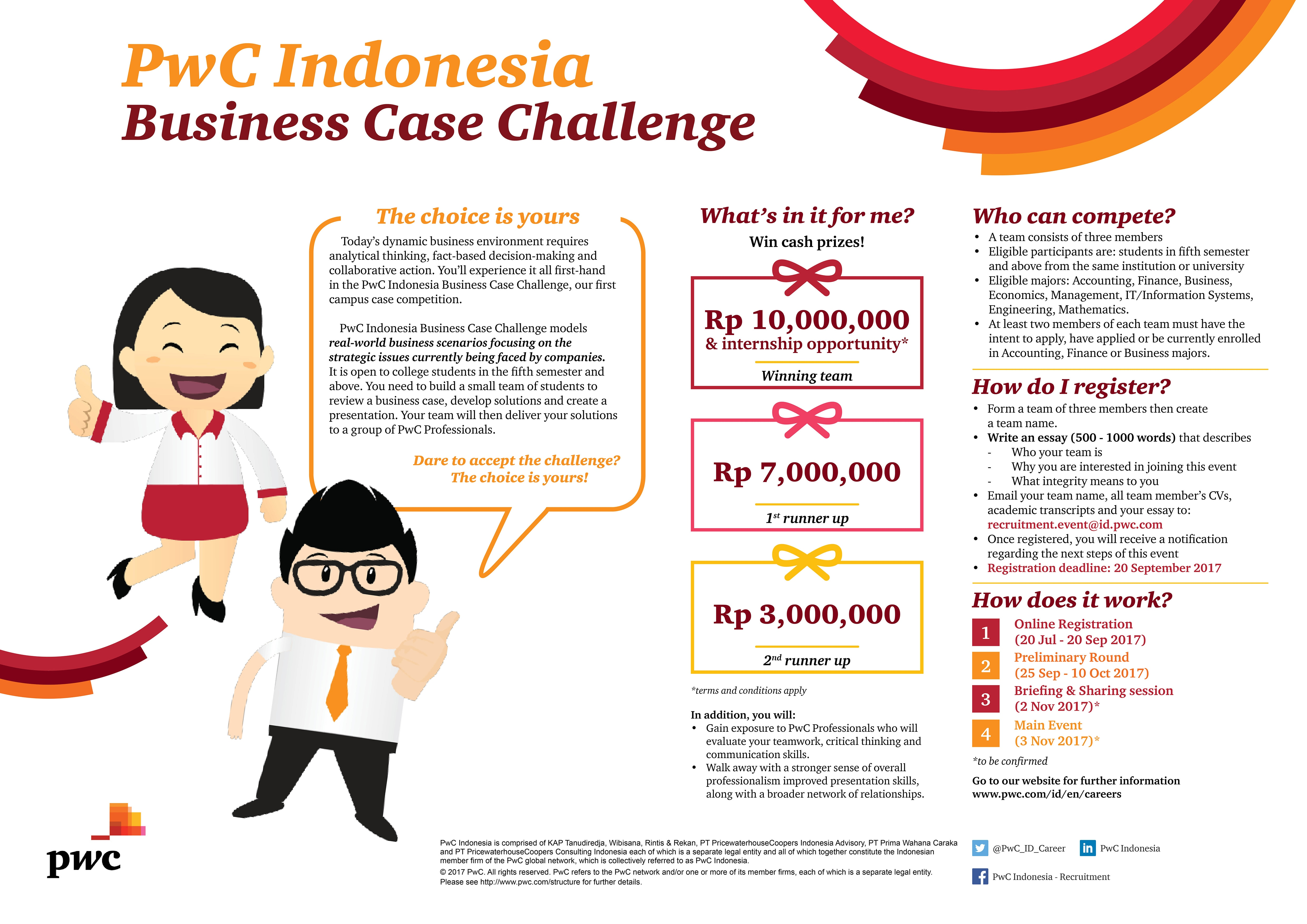business case challenge