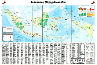 2018 Indonesian Mining Areas Map