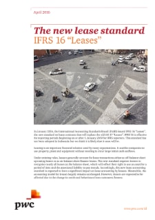 "The new lease standard: IFRS 16 ""Leases"""