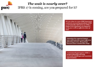 IFRS 17: The wait is nearly over