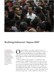 "Realizing Indonesia's ""Impian 2085"""