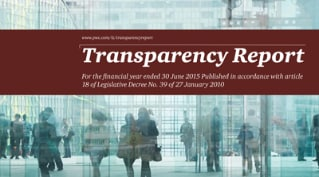 Transparency Report 2015 EN