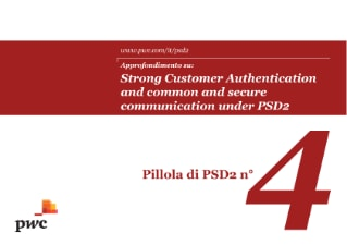 Strong Customer Authentication and common and secure communication under PSD2