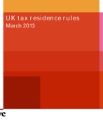 PwC seminar - New UK residence rules - March 2013