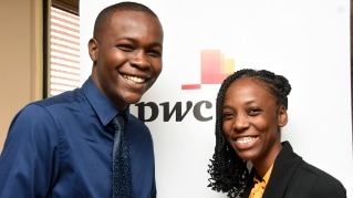 PwC awards scholarships to top performers in accounting at UWI and UTECH
