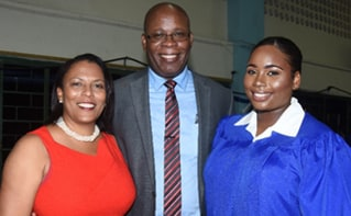 Believe in yourself says Leighton McKnight to Ardenne High school leavers