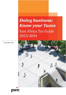 East Africa Tax Guide 2013/2014