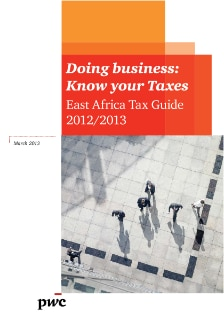 East Africa Tax Guide 2012/2013