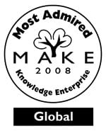 Most Admired Knowledge Enterprises in 2008