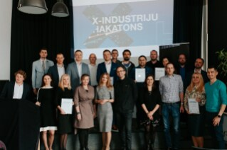 Four ideas emerged from Latvia's first ever X-industries hackathon
