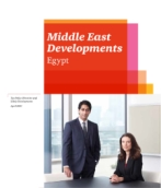 Middle East Developments - Egypt