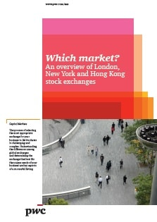 Which market? An overview of London, New York and Hong Kong stock exchanges