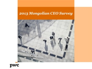 2013 Mongolian CEO Survey in English