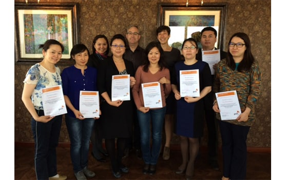 The first ACCA Diploma in IFRS class in Mongolia