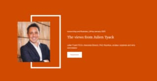 The views from Julien Tyack