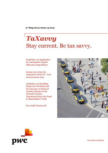 TaXavvy Issue 14/2015