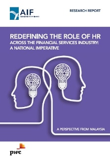 Redefining the role of HR across the financial services industry: A national imperative