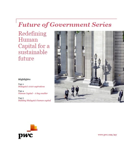 Future of Government Series - Redefining Human Capital for a sustainable future
