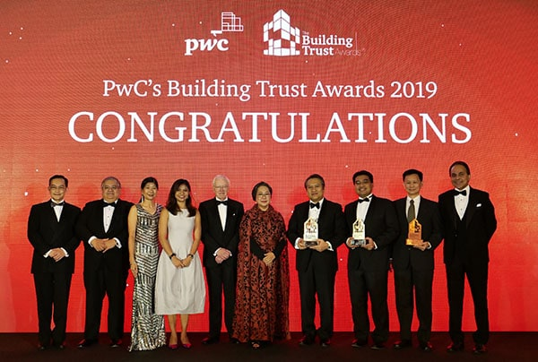 da6c6567254 The Building Trust Awards Recognising and celebrating companies that are  making strides to build trust