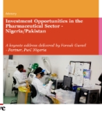Investment Opportunities in the Pharmaceutical Sector - Nigeria/Pakistan