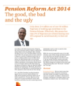 Pension Reform Act: The good, the bad and the ugly