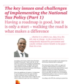 The key issues and challenges of implementing the National Tax Policy (Part 1)