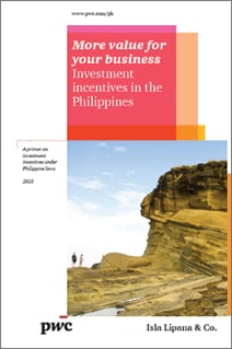 Investment incentives in the Philippines