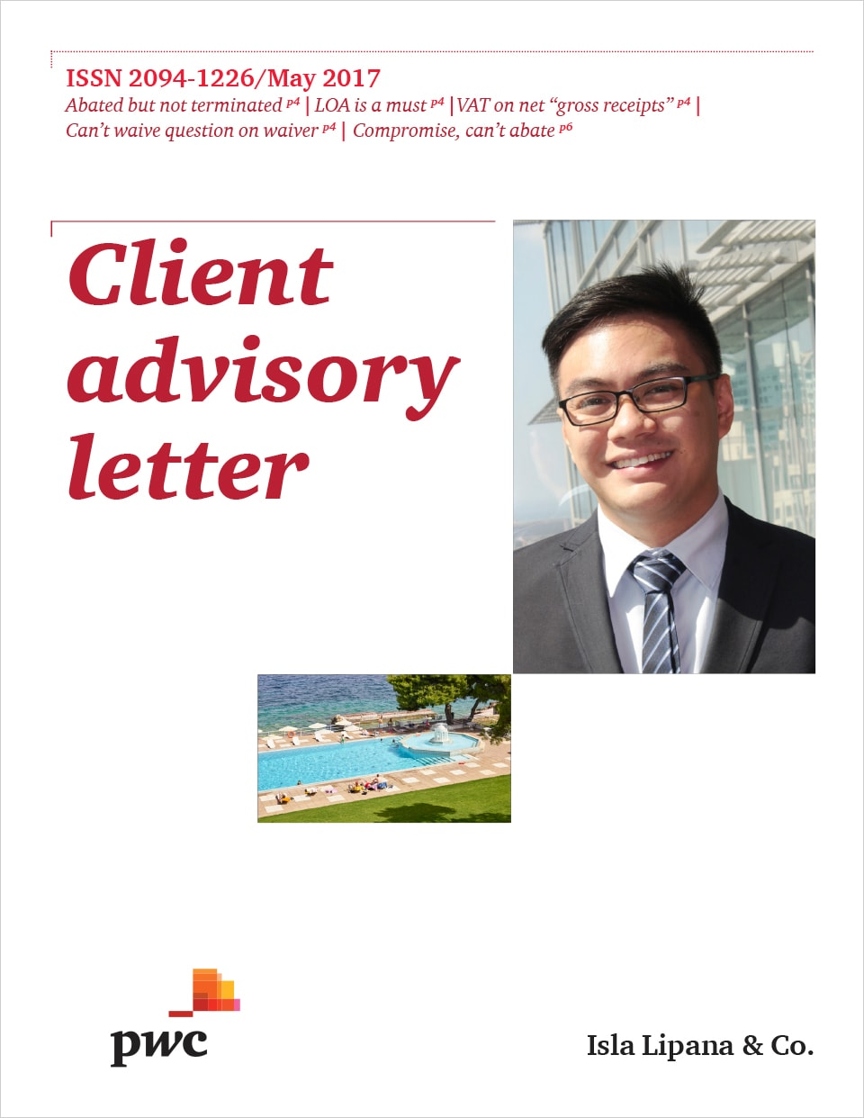 Client Advisory Letter May 2017 Pwc Philippines