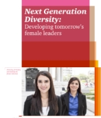 Next Generation Diversity: Developing tomorrow's female leaders (March 2014)