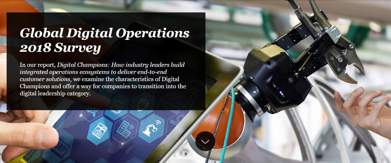 Global Digital Operations 2018 Survey