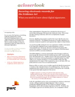 acloserlook Issue 3 - What you need to know about digital signatures