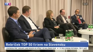TOP 50 companies revenues are 60 %  of GDP in Slovakia
