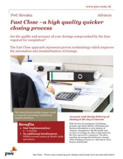 Fast Close –a high quality quicker closing process