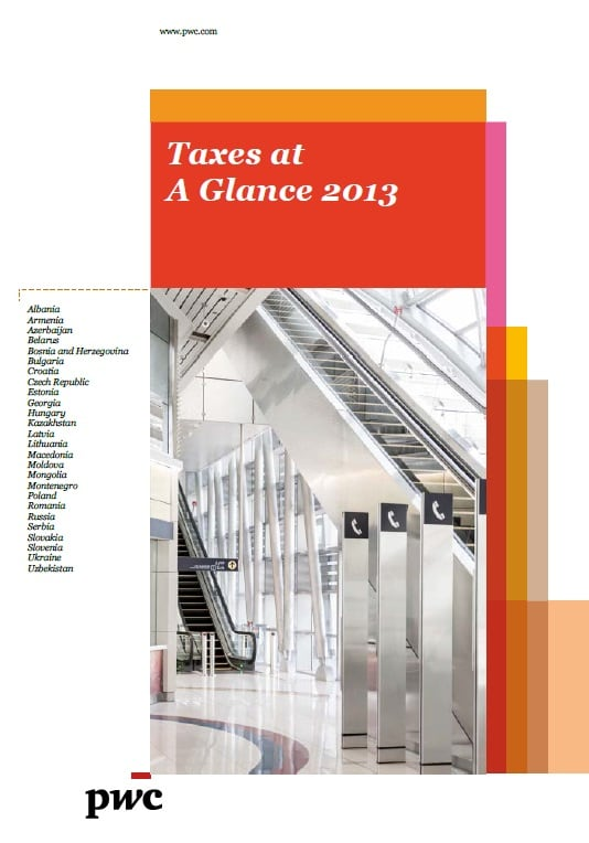 PwC: Taxes at a Glance 2013