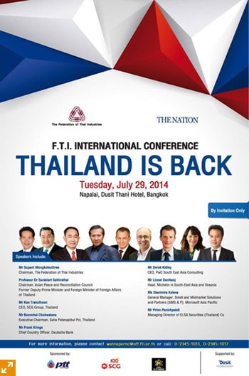 Thailand is Back